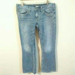 Silver Women's Jeans Aiko Bootcut W32/L33